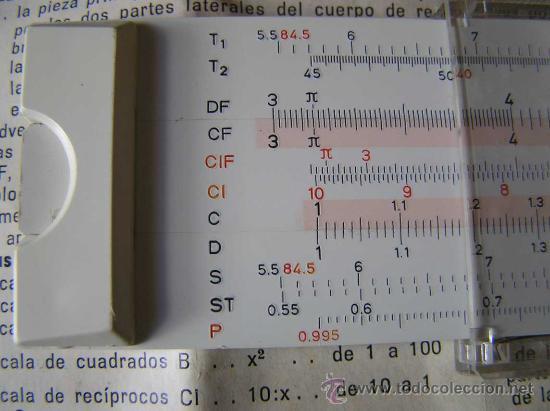 Antigüedades: REGLA DE CALCULO FABER CASTELL 152/82 - CALCULADORA - SLIDE RULE RECHENSCHIEBER - - Foto 8 - 27509296