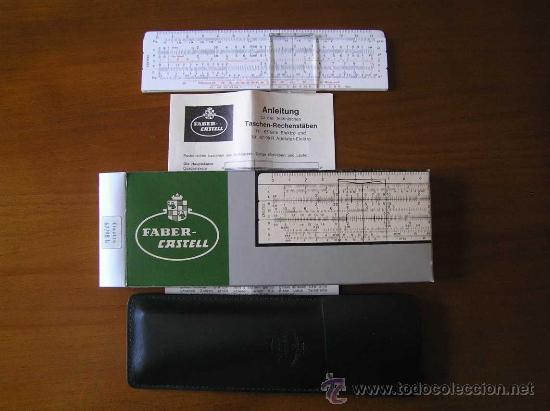 Antigüedades: REGLA DE CALCULO FABER CASTELL 67/98 b ELEKTRO CALCULADORA SLIDE RULE RECHENSCHIEBER KEISANJYAKU - Foto 2 - 27510944