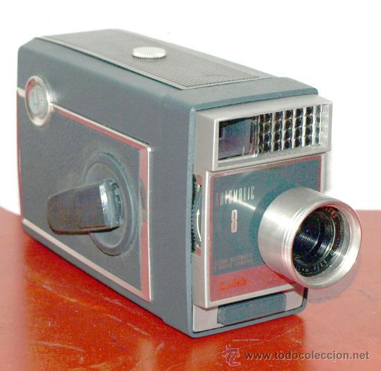 KODAK AUTOMATIC 8 DE 8MM (Antigüedades - Técnicas - Aparatos de Cine Antiguo - Cámaras de Super 8 mm Antiguas)
