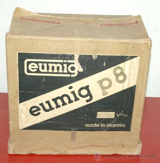 Antigüedades: PROYECTOR EUMIG P 8 DE 8 MM - Foto 5 - 27655438