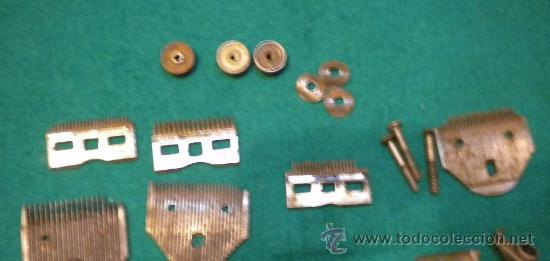 Antigüedades: Lote de desguace de piezas maquinas de cortar pelo ( para recámbios ) - Foto 3 - 27682514