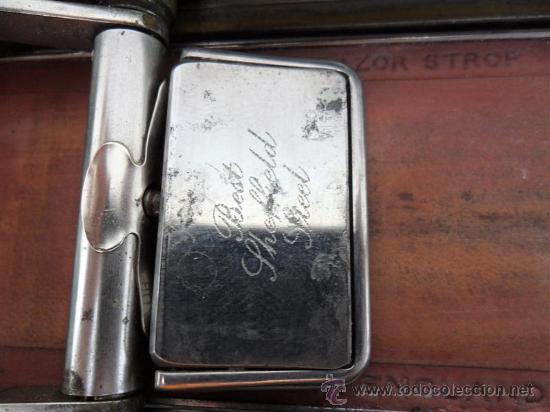 Antigüedades: afilador de cuchillas de afeitar - Foto 5 - 27726712