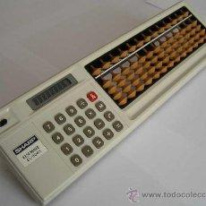 Antigüedades: CALCULADORA SHARP ELSI MATE EL-8048 COMBINACION DE CALCULADORA ELECTRONICA Y ABACO ABACUS SOROTAKU. Lote 27826373