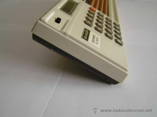 Antigüedades: CALCULADORA SHARP ELSI MATE EL-8048 COMBINACION DE CALCULADORA ELECTRONICA Y ABACO ABACUS SOROTAKU - Foto 7 - 27826373