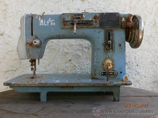 MAQUINA DE COSER ALFA PARA RECAMBIOS (Antigüedades - Técnicas - Máquinas de Coser Antiguas - Alfa)