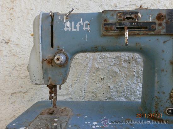 Antigüedades: MAQUINA DE COSER ALFA PARA RECAMBIOS - Foto 3 - 27998175