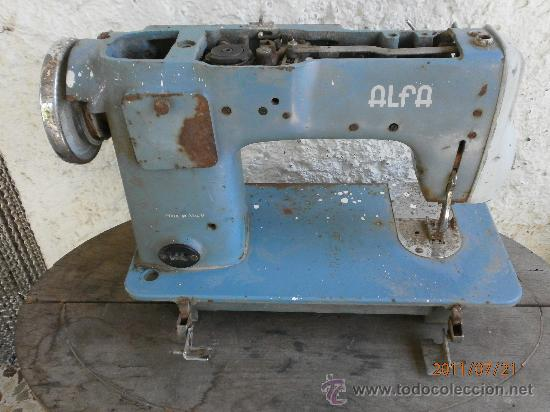 Antigüedades: MAQUINA DE COSER ALFA PARA RECAMBIOS - Foto 5 - 27998175
