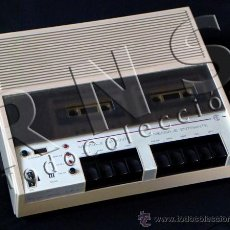 Teléfonos: ANTIGUO CONTESTADOR PARA TELÉFONO CM 60 - VALE REPRODUCTOR DE CASETES CASETERA - VINTAGE MÁQUINA. Lote 28002272