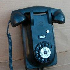 Teléfonos: TELEFONO PARED DE BAQUELITA MARCA PTT FUNCIONANDO CORRECTAMENTE ,,,TEL365. Lote 28053133