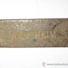 Antigüedades: HERRAMIENTA DE CARPINTERIA DE MARCA. Lote 28150597