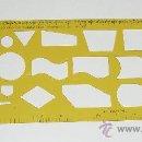 Antigüedades: PLANTILLA PARA DIAGRAMAS DE FLUJO Y ORGANIGRAMAS DE 1979 DE HISPATRONIC . Lote 28184755