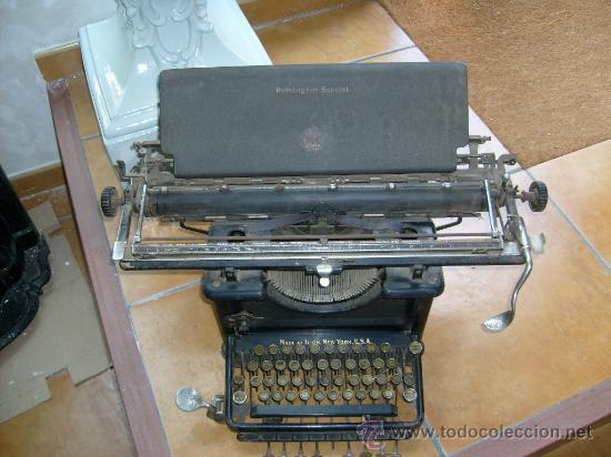 MAQUINA DE ESCRIBIR REMINGTON SPECIAL Nº 20, (Antigüedades - Técnicas - Máquinas de Escribir Antiguas - Remington)
