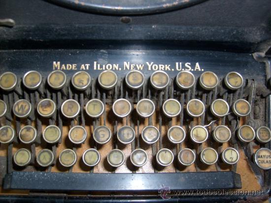 Antigüedades: Maquina de escribir Remington Special nº 20, - Foto 4 - 28211251