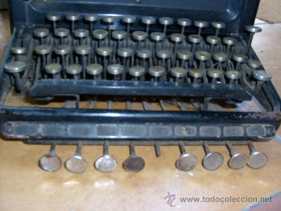 Antigüedades: Maquina de escribir Remington Special nº 20, - Foto 5 - 28211251
