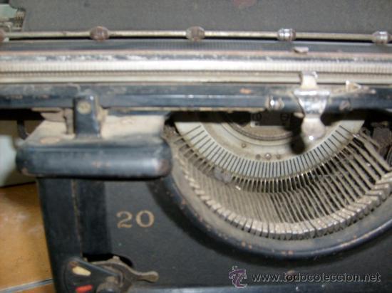 Antigüedades: Maquina de escribir Remington Special nº 20, - Foto 3 - 28211251