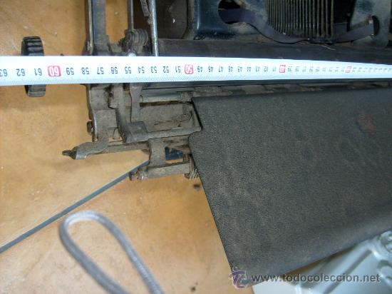 Antigüedades: Maquina de escribir Remington Special nº 20, - Foto 6 - 28211251