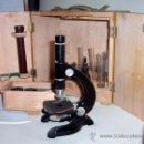 Antigüedades: MICROSCOPIO ANTIGUO KAVEX - - AÑOS 50. Lote 28237814