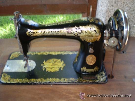 M quina de coser antigua singer con mesa y ca comprar m quinas de coser antiguas singer en - Mesa maquina coser singer ...