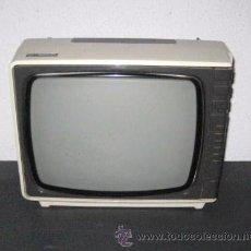 Antigüedades: TELEVISOR PHILIPS. BLANCA MODELO RETRO. .ENVIO CERTIFICADO GRATIS¡¡¡. Lote 153622892