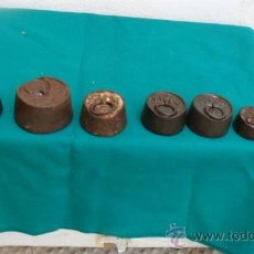 Antigüedades: 7 PASA DE 2K. 1K, 250 GRAMOS.. Lote 28281429