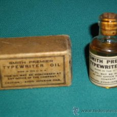 Antigüedades: TYPEWRITER OIL - SMITH PREMIER. Lote 28300900