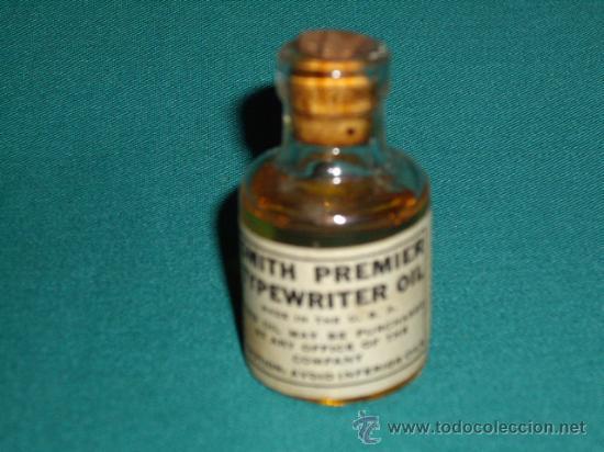 Antigüedades: TYPEWRITER OIL - SMITH PREMIER - Foto 2 - 28300900