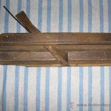 Antigüedades: CEPILLO DE MOLDURA DE CARPINTERO. Lote 28308308