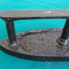 Antigüedades: PLANCHA DE HIERRO. Lote 28316089