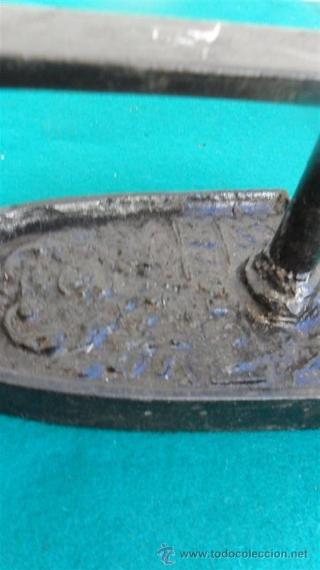 Antigüedades: plancha de hierro - Foto 2 - 28316089