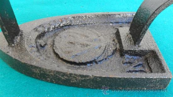 Antigüedades: plancha de hierro - Foto 2 - 28316108