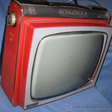 Antigüedades: TELEVISOR PORTÁTIL KOLSTER 12 PULGADAS AÑOS '60. Lote 28319367
