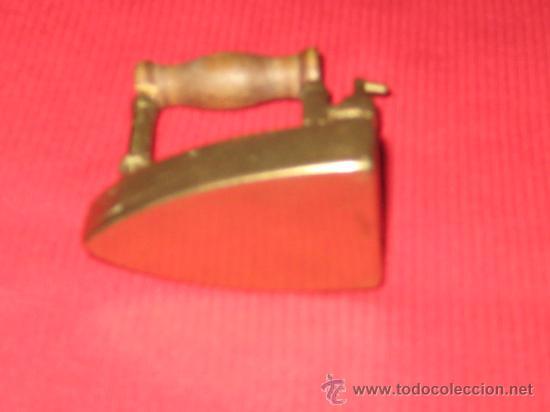 Antigüedades: PLANCHA DE BRONCE EN MINIATURA ( CAJA PASTILLAS ) - Foto 9 - 28355270