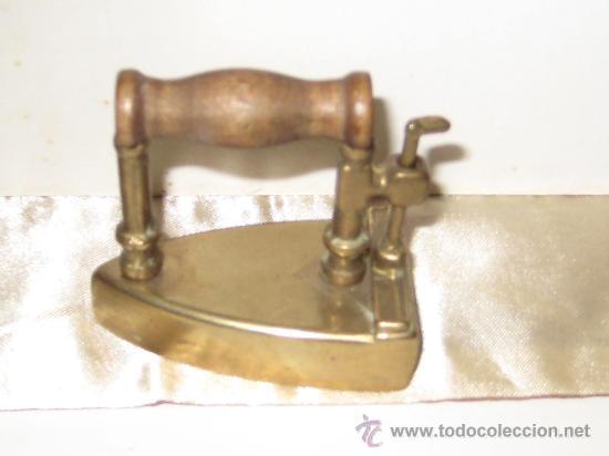 Antigüedades: PLANCHA DE BRONCE EN MINIATURA ( CAJA PASTILLAS ) - Foto 11 - 28355270