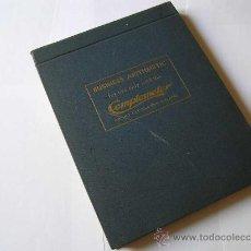 Antigüedades: LIBRO EN INGLES PARA EL MANEJO DE LA CALCULADORA COMPTOMETER. Lote 28364079