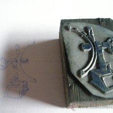 Antigüedades: ANTIGUO SELLO TAMPÓN DE EMPRESA CATALANA.. Lote 28414352