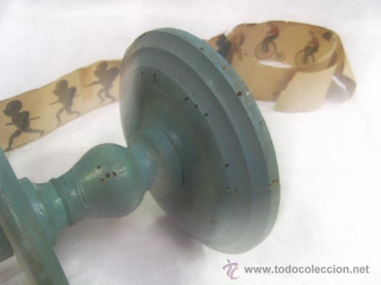 Antigüedades: Zootropo de Madera. - Foto 4 - 28388815