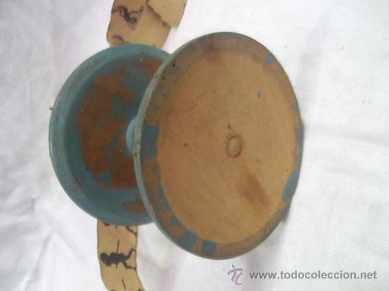 Antigüedades: Zootropo de Madera. - Foto 7 - 28388815