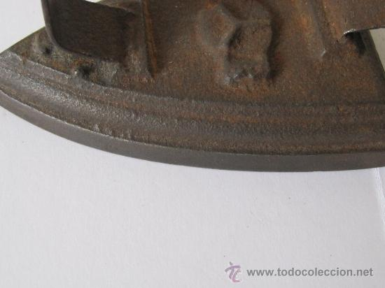 Antigüedades: PLANCHA SIN ASA - Foto 4 - 28459422