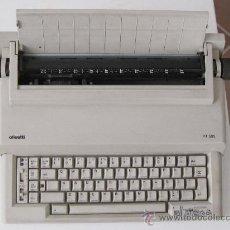 Antigüedades: MAQUINA ELECTRICA PARA ESCRIBIR: OLIVETTI PT-505.- NUEVA. MUY POCO USO.. Lote 28483456