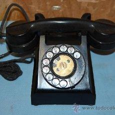 Teléfonos: TELÉFONO DE BAQUELITA NEGRO DE LA FIRMA ERICSSON. Lote 28507188