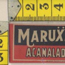 Antigüedades: CUCHILLA DE AFEITAR MARUXA ACANALADA HOJA. Lote 235976680