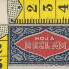 Antigüedades: CUCHILLA DE AFEITAR RECLAM HOJA. Lote 235978410
