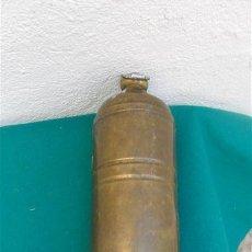 Antigüedades: TERMO ANTIGUO DE METAL. Lote 28645894