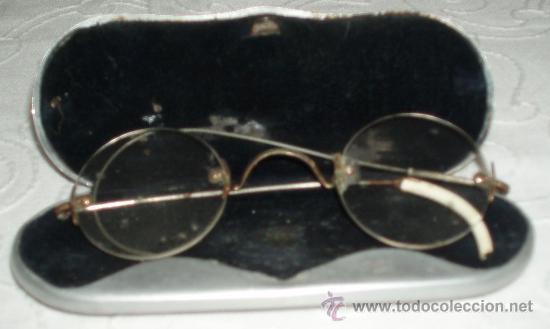 GAFAS ANTIGUAS CON FUNDA ORIGINAL (Antigüedades - Técnicas - Instrumentos Ópticos - Gafas Antiguas)