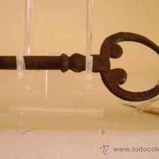 Antigüedades: LLAVE ESPAÑOLA SIGLO XVIII.LL-023. Lote 28670614