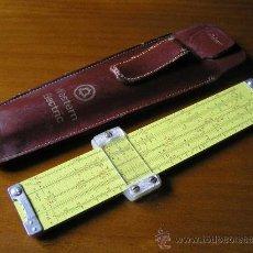 Antigüedades: REGLA DE CALCULO PICKETT MODEL N600-ES - ¡¡ UNA PEQUEÑA GRAN CALCULADORA ! SLIDE RULE RECHENSCHIEBER. Lote 28671604