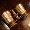 Antigüedades: PRISMATICOS DE TEATRO DE NACAR CROSTI. Lote 28673494
