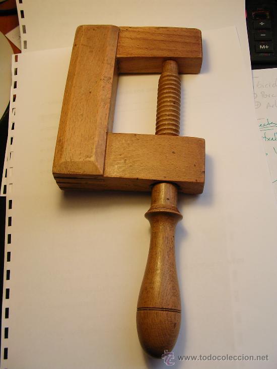 Antiguo sargento de madera carpintero comprar for Sargentos de madera