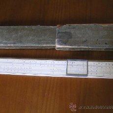 Antigüedades: REGLA DE CALCULO ALBERT NESTLER SYSTEM RIETZ N23R CALCULADORA SLIDE RULE RECHENSCHIEBER KEISANJYAKU. Lote 28697213
