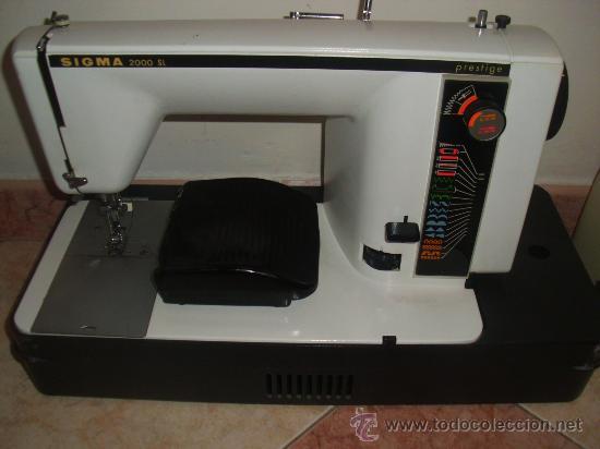 Maquina de coser o bordar sigma 2000 s.l presti - Vendido